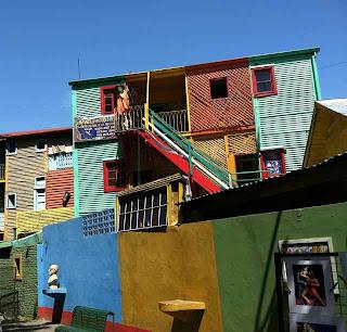 Colorful La Boca...