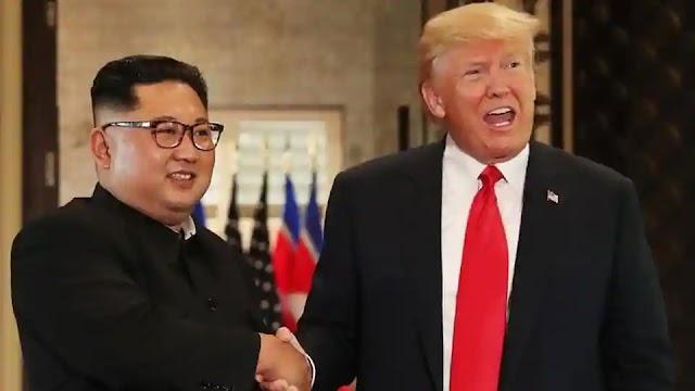 #Politics : President Donald Trump called North Korean leader Kim Jong Un 'my friend'