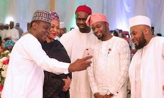 See Photos Of President Buhari & His Family At The 2019 Presidential Election Victory Dinner