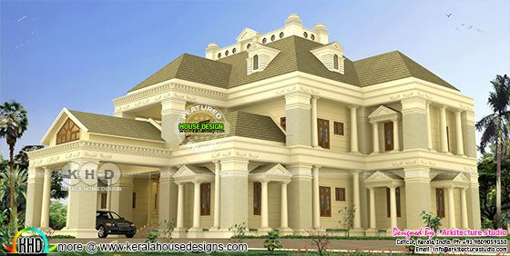 8 bedroom luxury colonial home