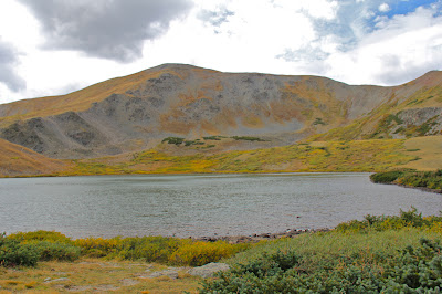 Ptarmigan Lake near Buena Vista is a great fall hike. The tundra turns golden.