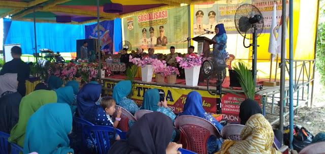 PMD P3A Muratara, Adakan Sosialisasi Melibatkan 3 Kecamatan