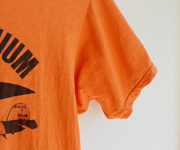 70sヴィンテージAmocoスピリットオブセントルイス号プリントTシャツ