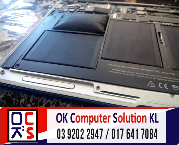 [SOLVED] BATERI MAC AIR A1370 ROSAK | REPAIR MAC DESA PANDAN 1