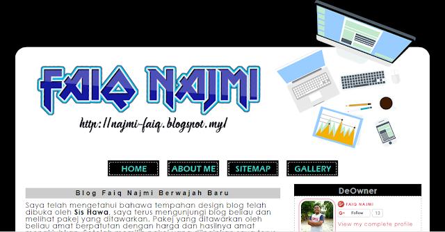 Blog yang cantik dan menarik