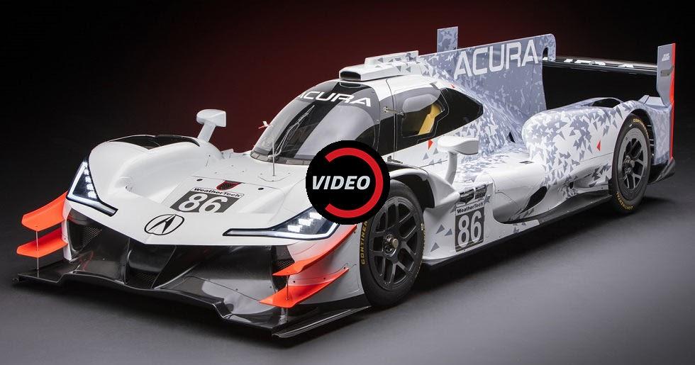 Acura Unveils Its New ARX-05 Prototype Race Car