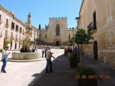 Entrada al Monasterio de Santes Creus