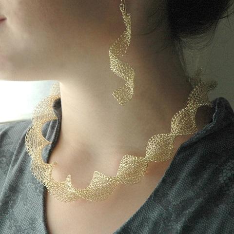 Yoola Design\'s $59 Unique Wire Crochet Knit Kit and Tutorial ...