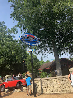 Verbolten Sign at Busch Gardens Williamsburg