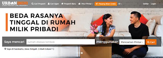 Situs Pasang Iklan Property Urbanindo.com