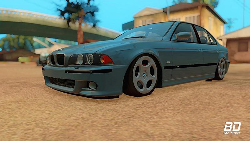 Download mod carro BMW M5 Stance para GTA San Andreas