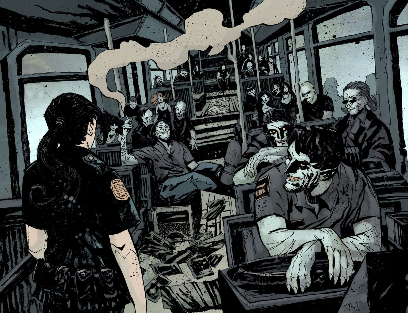 Comic Wallpapers 30 Days Of Night Comic Wallpaper