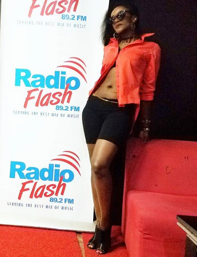 tony1 - Sexy Kenyan singer narrates how she was humiliated and kicked out of a local TV station over this skimpy outfit (PHOTOs)