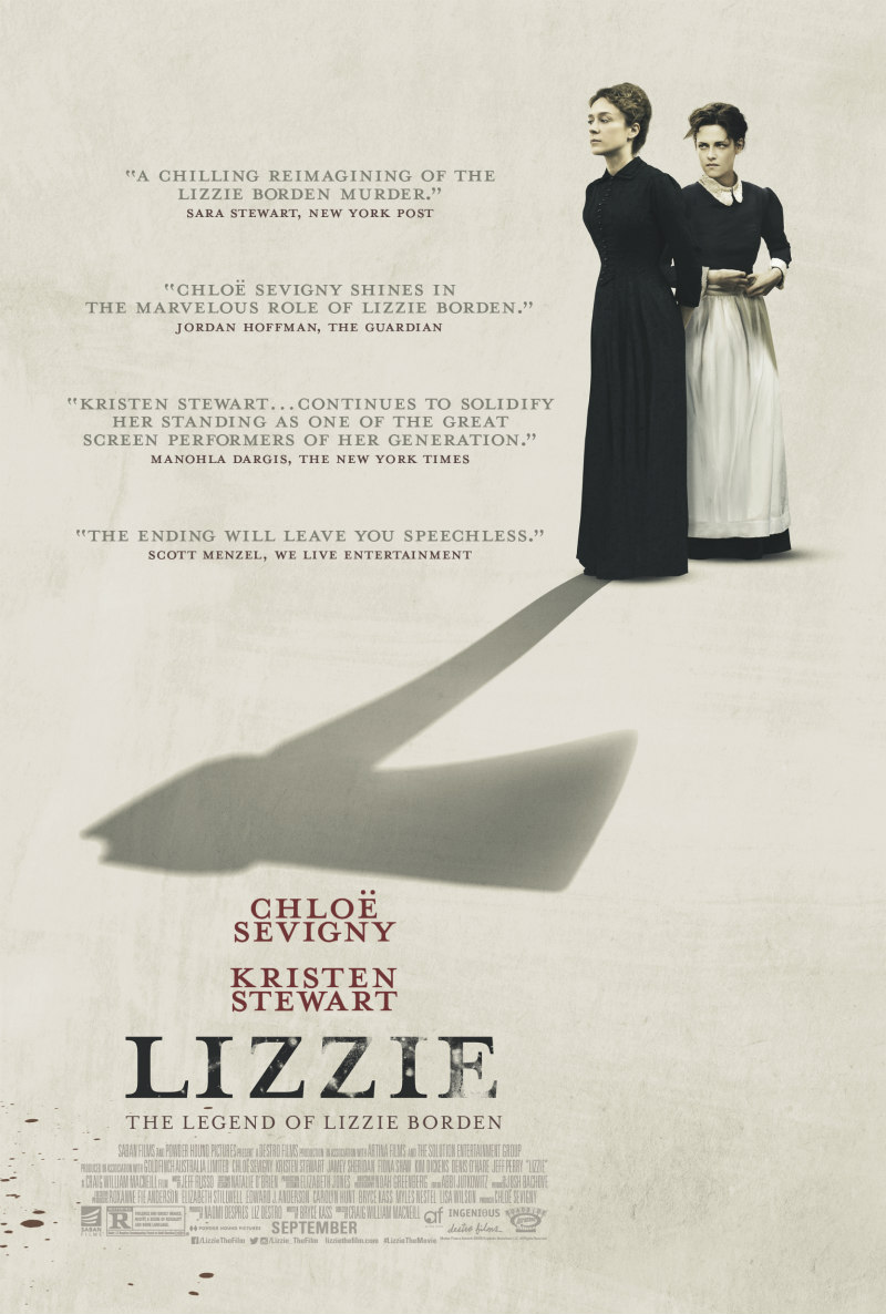 lizzie 2018 movie poster