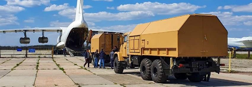 Укрспецекспорт відправив РЛС закордонному замовнику
