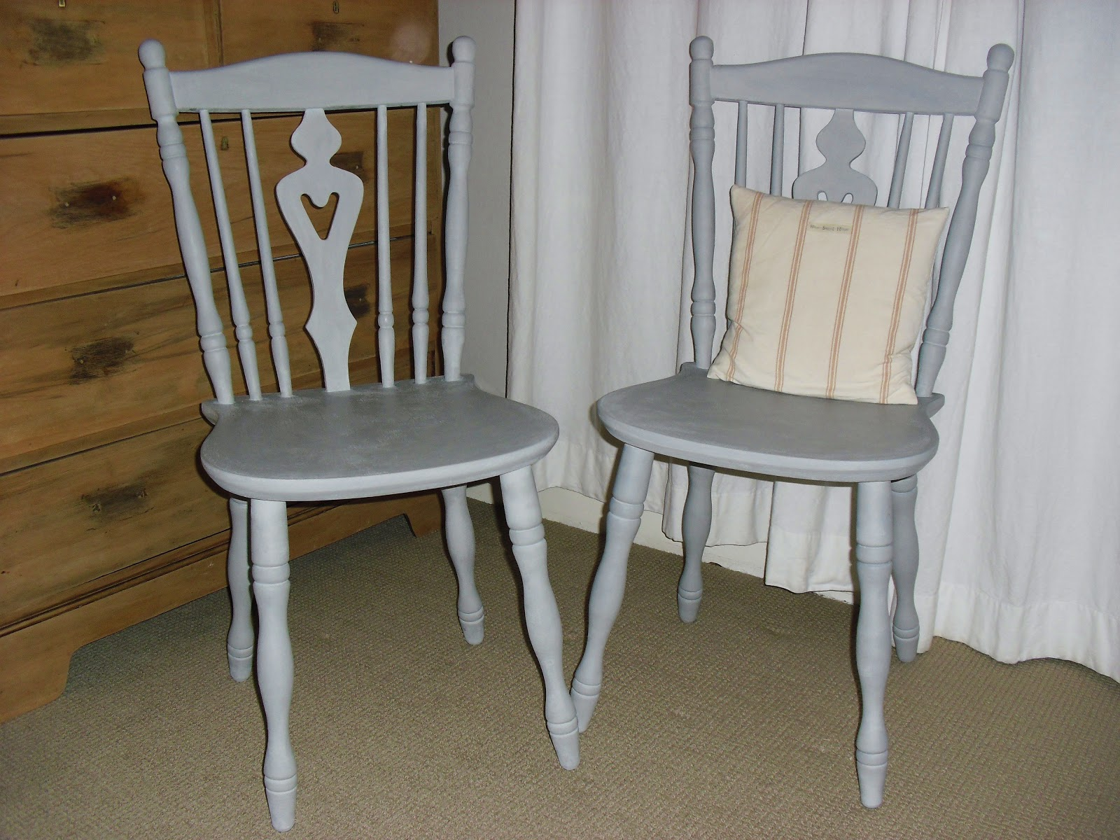 Grey Painted Chairs World Market Dining Chair Faberdashery Paris