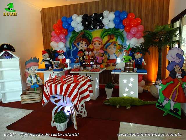 Decoração tema Jake e os Piratas - festa de aniversário infantil - Barra-Rio de Janeiro-RJ