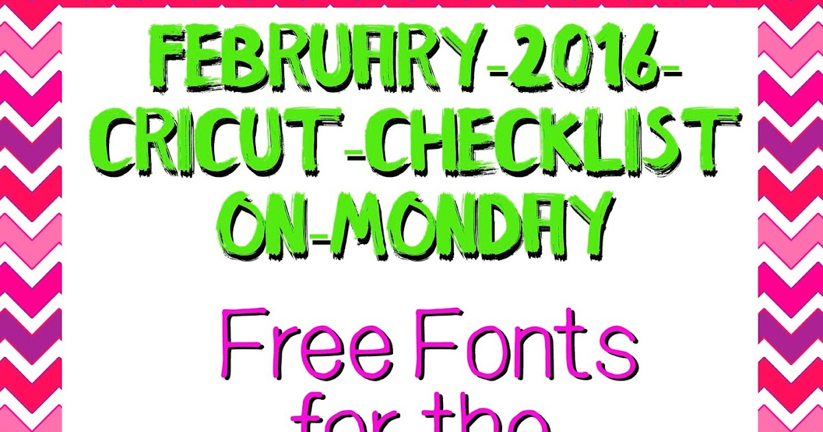 my cricut craft room free font for the cricut explore