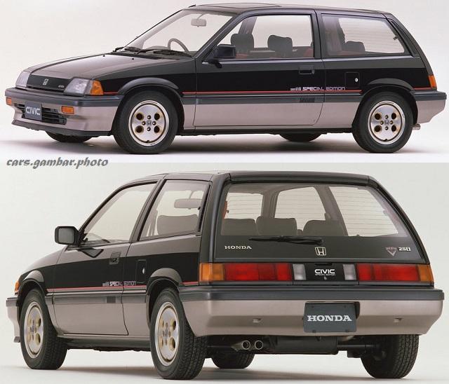 Honda Civic Third Gen Kammback 25U Special Edition