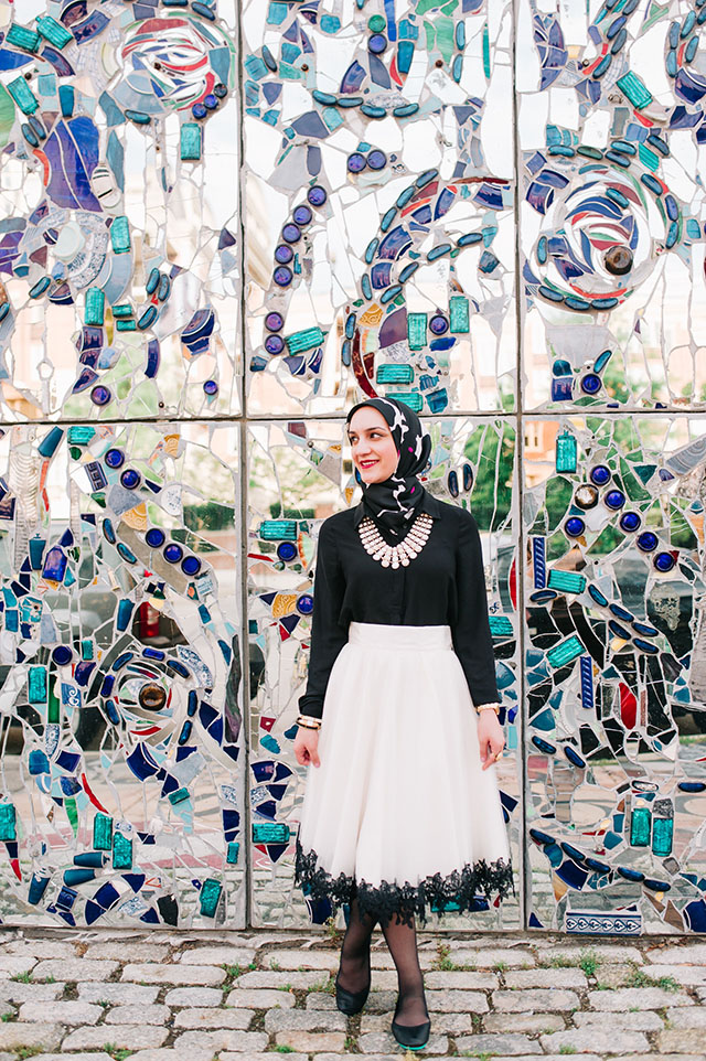 Tulle Skirt-Tieks Flats-American Visionary Art Museum-Baltimore-Summer Style-Fashion Blogger-Bauble Bar Necklace