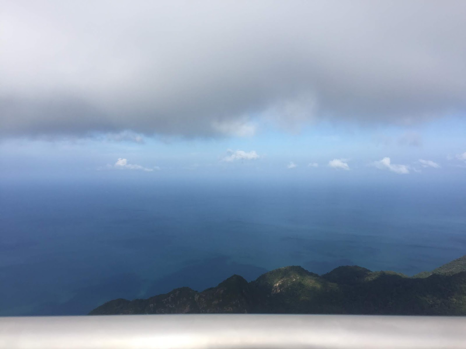 dari atas gunung