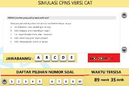 Kumpulan Contoh Soal CPNS Terbaru Lengkap Dengan Jawabannya