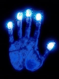 Neon Finger Print Wallpaper For Mobile Share Pics Hub