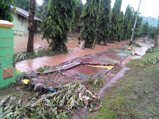 Dihantam Banjir SMKPPN Alami Kerugian Rp4,8 Milyar