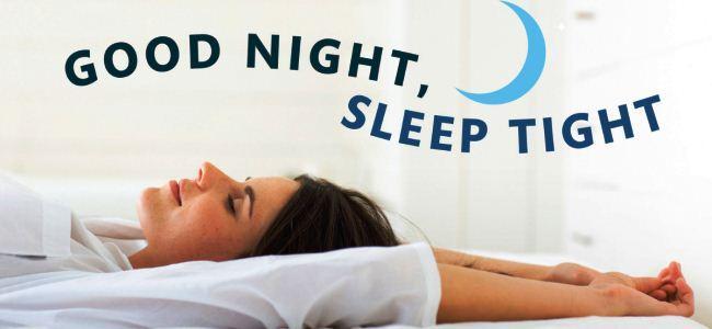 Tidur malam yang baik