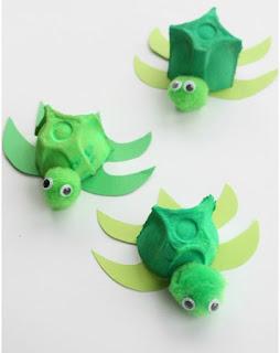 tortugas recicladas