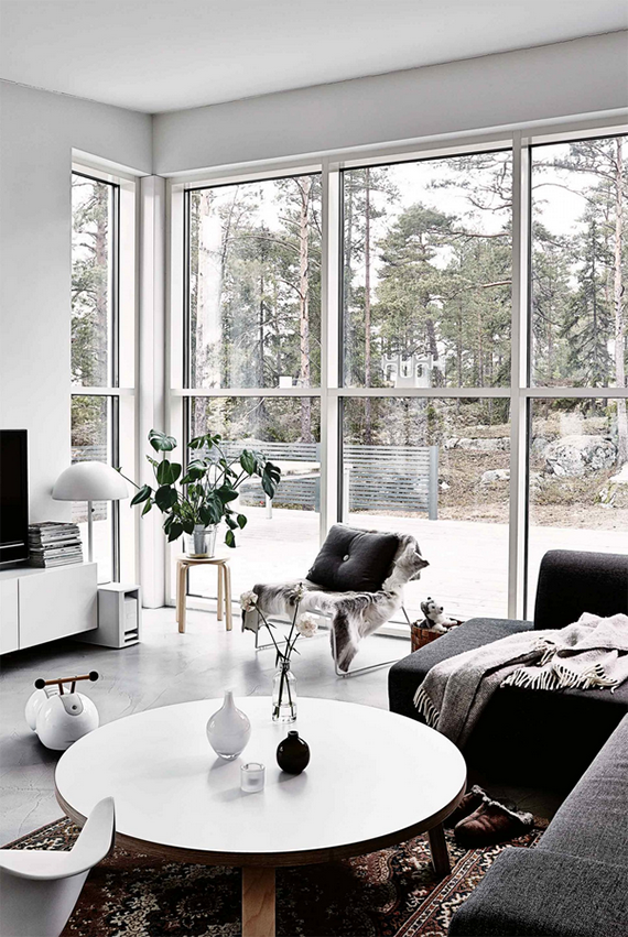 Calm interiors with large windows | Inside Out