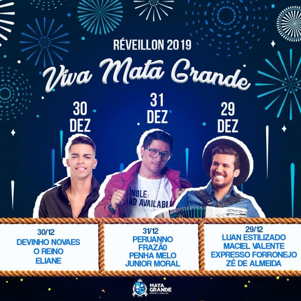 Em Mata Grande Shows De Quatro Atracoes Artisticas Realizados No