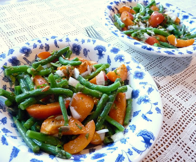 Green Bean & Apricot Salad