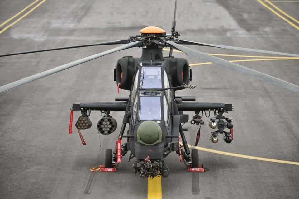 Turkish TAI/AgustaWestland T-129 Attack Helicopter Detailed-II | Pakistan Military Review