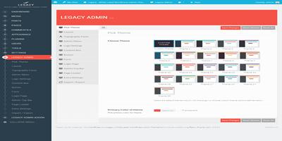 Legacy Admin White Label