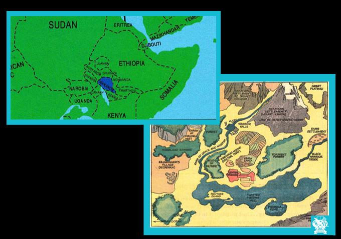 Carte Afrique Wakanda.Apres Civil War Trois Bonnes Raisons D Attendre Le Film
