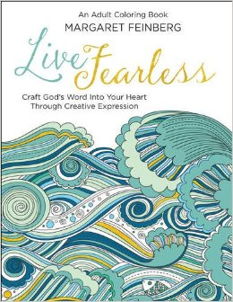 The Mary Reader: Live Fearless Adult Coloring book By Margaret Feinberg