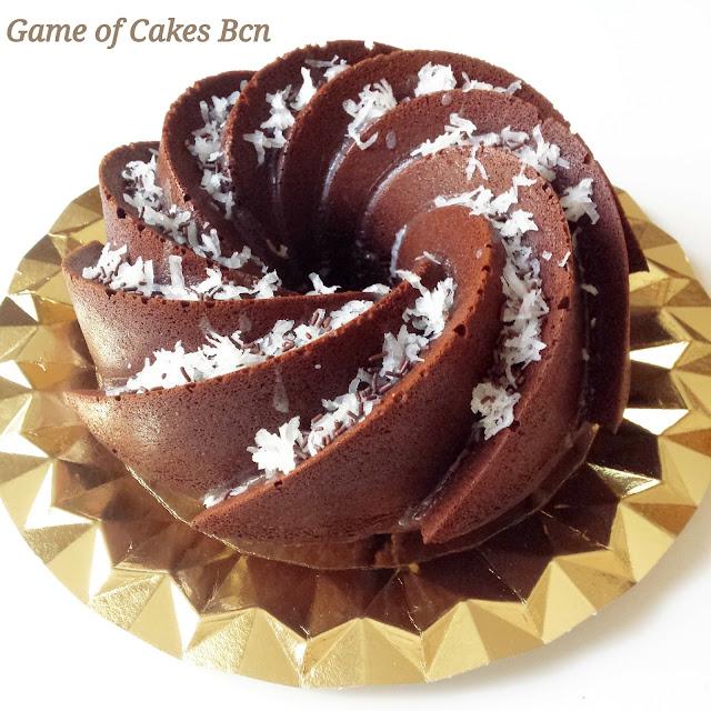 Bundt Cake de Chocolate, Plátano y Coco