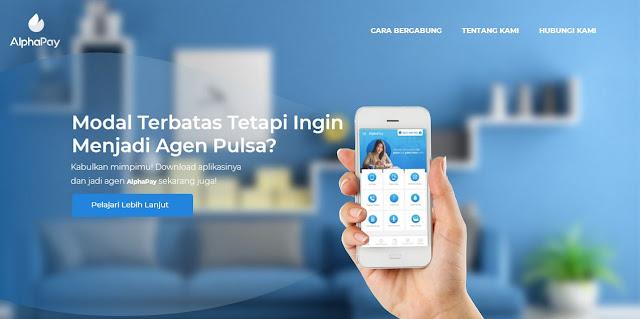 bisnis pulsa di alphabay