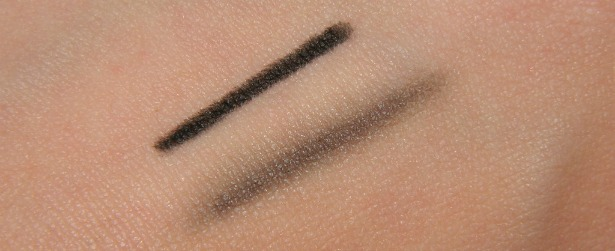 mac kohl power eye pencil feline black cat review swatches tightline waterline safe smudge wing blend eye
