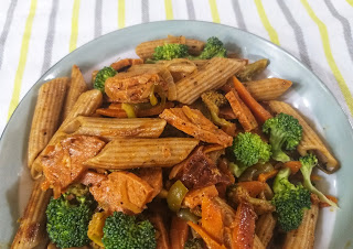 Easy whole wheat Pasta Recipe