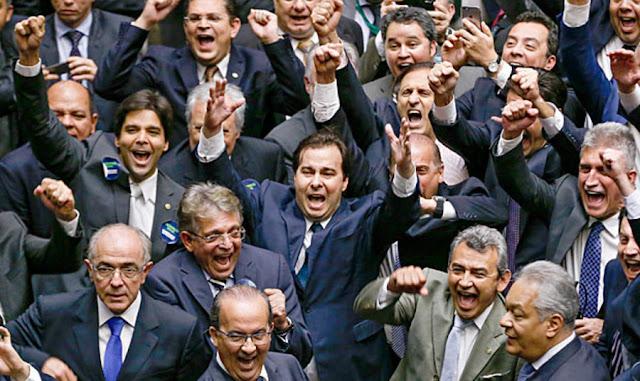 Partidos do centrão contra a Lava Jato