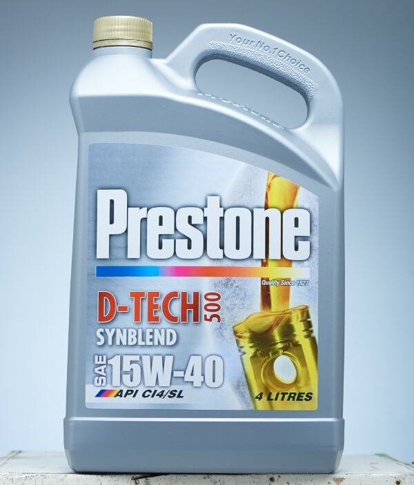 Prestone Philippines Outs New Range of Motor Oil