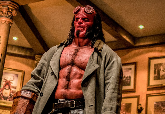 "Novo trailer de ""Hellboy"" é mais intenso e sombrio"