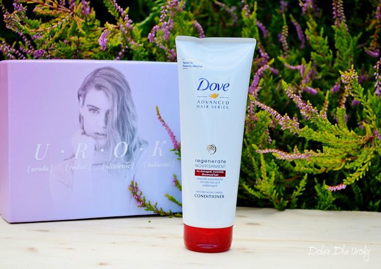 ShinyBox zestaw U.R.O.K. III - Odżywka do włosów Dove Regenerate Nourishment