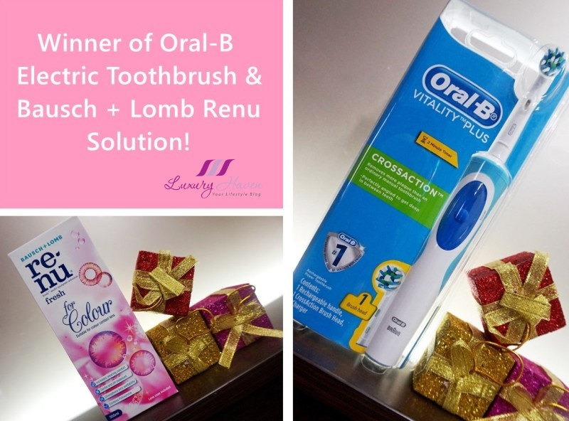 oral b vitality plus crossaction electric toothbrush winners