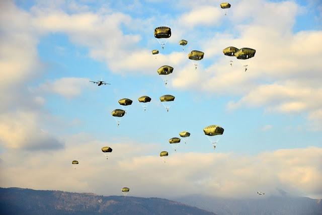 Aeronautica USAF exercise Rock Hammer