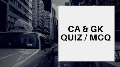 Daily Current Affairs Quiz - 11th May 2018