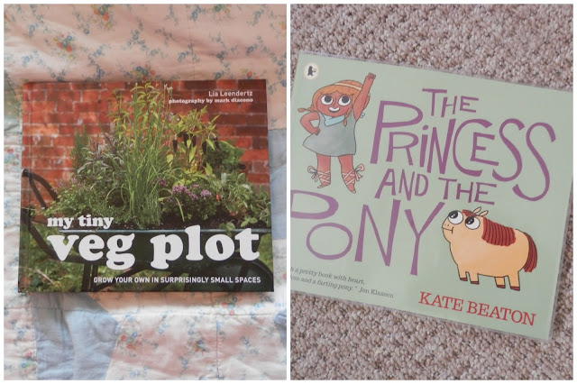 My tiny veg plot, Lia Leendertz, The princess and the pony, Kate Beaton Library love secondhandsusie.blogspot.co.uk