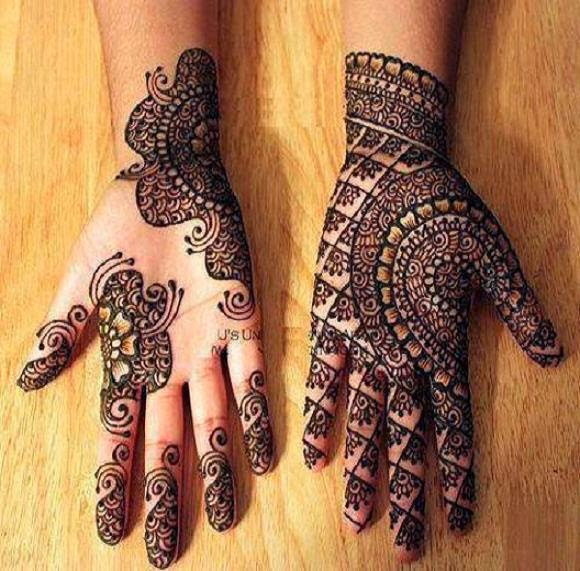 New Eid Mehndi Designs Wallpapers Free Download